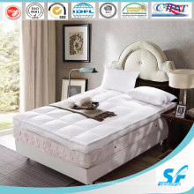 Protector del colchón de la pluma del ganso de la alta calidad / colchón del colchón / cojín de colchón
