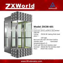 ZXC08-601 Elevador panorâmico cheio do passageiro do passageiro