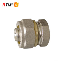 brass pipe plug compression fittings for multilayer pipe