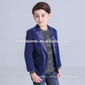 Solid color new design baby boy dress clothes for wedding