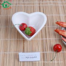 Shopping Chinoise Modern Hot Sale en porcelaine blanche Vente en gros de plats de sushi profond