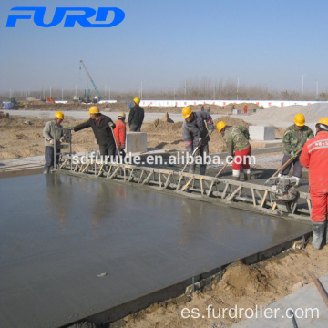 Electric Power Vibrating Concrete Truss Screed para la venta (FZP-130)