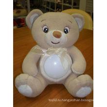ГОРЯЧАЯ игрушка медведя СИД света ночи сбывания красивейшая