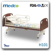 H101 quente! Uma cama manual de função ou médica médica sem rodas