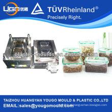 PP alimentos almoço armazenamento moldes / caixas de alimentos fabricação de moldes / alimentos plásticos mantendo caixa fresca