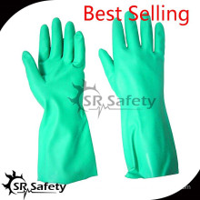 SRSAFETY good quality useful gloves for oil resistance in 2015 best working safety glove