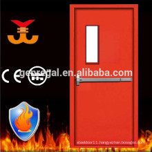 Emergency exit 2 hours Panic bar fire rated steel doors