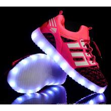 OEM самый последний студент вспышка света обувь дети светодиодные обувь (FF824-3)