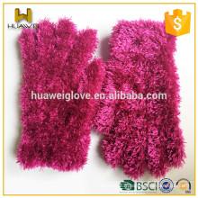 Fashion Mohair Nouveaux gants à main en tricot Lady Winter Gloves