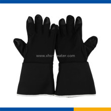 Promotional christmas gift high quality heated gloves