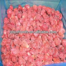 Caja de fresas congeladas