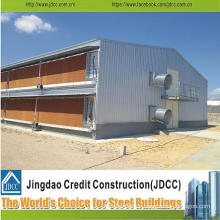 High Quality Steel Structure Poutry Shed