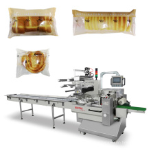 Automatic Flow Rotary Bag Bread Food Packing Machine