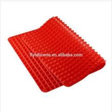 Nuevo diseño ecológico fácil lavado silicona jabón Mats