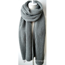Acrylic Knitted Shawl (12-BR201812-13)