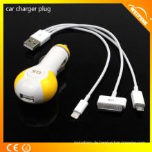 Nettes Entwurfs-Multifunktions-Handy-Ladegerät / Auto-Aufladeeinheit für Laptop und Handys