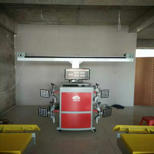 Fast Operationg 3D Wheel Alignment System