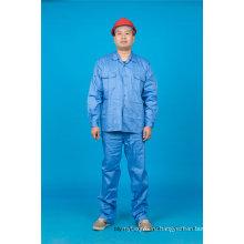 65% полиэстер 35%высокое качество хлопка с длинным рукавом безопасности рабочая одежда (BLY2004)