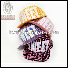 sweet adjustable new tide of 2013 flat brim snapback hat&cap