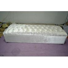 Upholstered long ottoman/stool XY0183