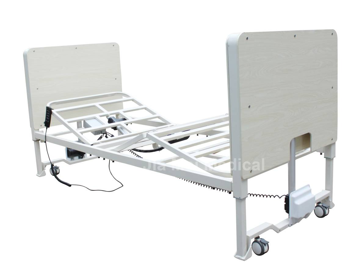 Adjustable height of electric nursing bed