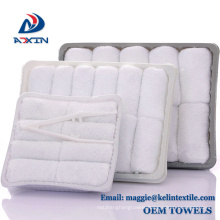 2018 Hot Sale 100% Cotton Disposable Airline Refreshing Hot Towel in Tray 2018 Hot Sale 100% Cotton Disposable Airline Refreshing Hot Towel in Tray