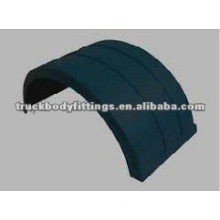 Mudguard for commercial vehicle body parts
