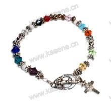 Bracelete de cristal da forma, bracelete do rosário