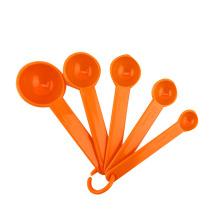 5pcs PP plastic measuring spoon scoop