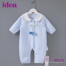 60135 100% coton doux bébé barboteuse douce combinaison de saut
