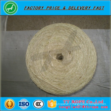 Corde d'emballage de corde de Sisal de couleur de haute qualité 3ply
