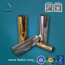 Metallisierter thermischer Laminierfilm, Gold, Silber
