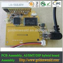elektrischer Kontakt für Zutrittskontrollsystem PCBA Assembly