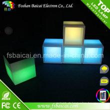 LED Cube Möbel beleuchtete LED Cube Stuhl
