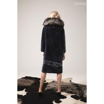 Frauen Australien Merino Shearling Long Coat