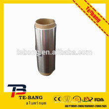 No glue stick inner core for hairdressing hair aluminum foil roll with blade