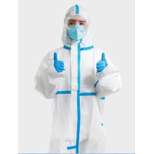 Fournitures médicales Virus de quarantaine pour vêtements de protection