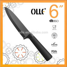 """Forever Sharp 6"""" ceamic knife Double Injection Handle Eco-friendly Knife"""