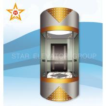 Ascenseur panoramique de bonne qualité en Chine pour 13 ~ 15 personnes