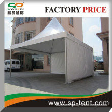 party gazebo 5x5m in white for outdoor gathering party events