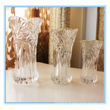 Decoração de alta qualidade Crystal Clear Vase