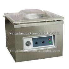 Automatique mini machine d'emballage sous vide simple chambre pour la viande DZ400