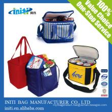 High quality hot custom bottle cooler bags/lunch box cooler bag