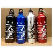 Botella de aluminio al aire libre de los deportes, botella corriente del deporte de la bicicleta Botella de aluminio automotora