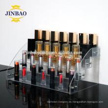 Caja de acrílico del soporte del soporte de exhibición del regalo del corte del laser de Jinbao para la decoración de la exhibición