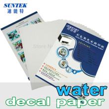 Wasserrutsche Aufkleber Papier für Keramik Glas Kunststoff Becher Cup