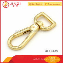 metal snap hook with square hole