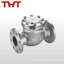 compact api600 swing pn40 steel check valve swagelok type price