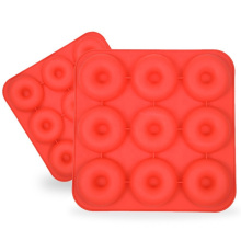 Silicone Baking Tray Non-stick Donut Mould Baking Reusable Decoration Making Resin moldes Cake Silicone Mold Tool