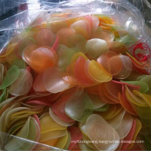 Dalian dried seafood colored prawn crackers for fried